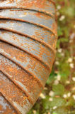 Rusty steel material Stock Photos