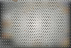 Rusty steel pattern background Stock Image