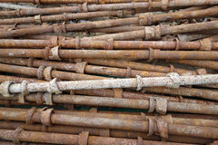 Rusty steel pipe Royalty Free Stock Photography