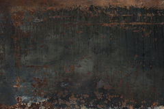Rusty Steel Plate Side 2 Stockfoto