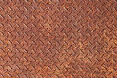 Rusty steel plate Stock Image