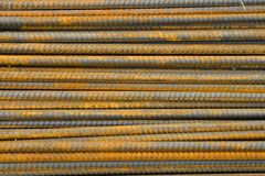 Rusty Steel Rod Royalty Free Stock Images