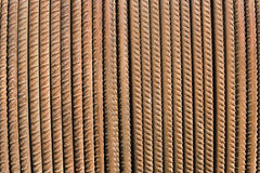 Rusty steel rod as background Stock Image