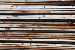 The rusty steel sheet Stock Images