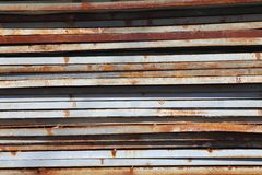 The rusty steel sheet Royalty Free Stock Photography