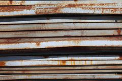 The rusty steel sheet Royalty Free Stock Images