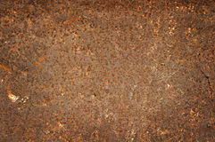 Rusty steel sheet of metal Stock Image