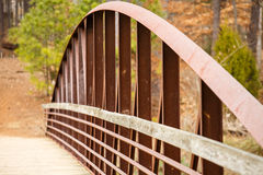 Free Rusty Steel Span On Old Bridge Stock Photography - 29192302