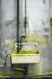 Rusty steel tap water Stock Images