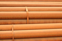 Rusty steel tube Royalty Free Stock Photo