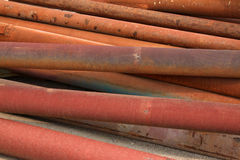 Rusty steel tube Royalty Free Stock Photography