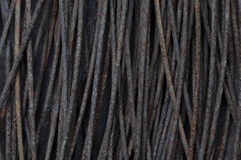 Rusty steel wire construction Royalty Free Stock Images