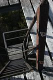 Rusty steps Royalty Free Stock Photography