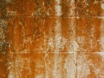 Rusty Stone Wall áspero Fotos de Stock Royalty Free