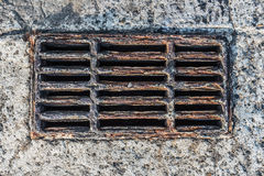 Rusty Storm Drain Stock Images