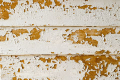 Rusty Surface. Three old wooden planks Royalty Free Stock Image