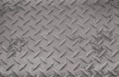 Rusty Surface der alten karierten Platte lizenzfreie stockfotos
