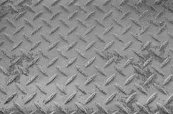 Rusty Surface der alten karierten Platte Lizenzfreie Stockbilder