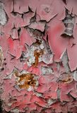 Old red paint Royalty Free Stock Image