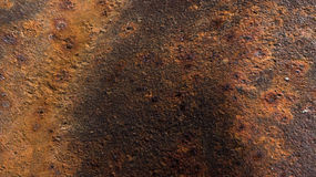 Rusty surface texture Stock Photography