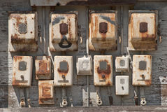 Rusty Switches Stock Images