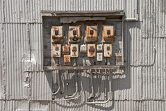 Rusty Switches Royalty Free Stock Photo