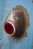 Rusty taillight. Series of rusty car. 3 Stock Images