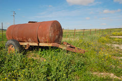 Rusty tank Royalty Free Stock Photography