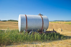 Rusty tank royalty free stock images
