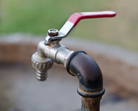 Rusty tap Royalty Free Stock Photos
