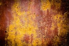 Rusty Texture av en metallspatel Royaltyfri Fotografi