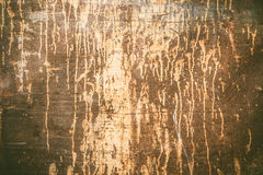 Rusty texture with dripping paint Royalty Free Stock Photo