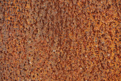 Rusty Texture einer Metallspachtel Lizenzfreie Stockfotos