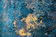 Free Rusty Texture. Grunge Background. Dry Ground And Old Metal Royalty Free Stock Images - 195882689