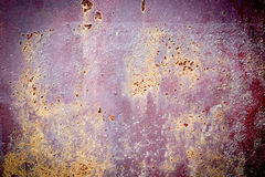 Rusty Texture of a Metal Spatula Stock Image