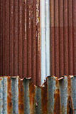 Rusty texture of steel plate Stock Photography