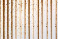 A rusty texture with stripes, suitable as a background Royalty Free Stock Images