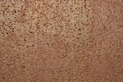 Rusty texture on wall Royalty Free Stock Photography