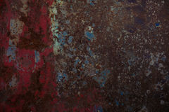Rusty textured metal background. Grunge, old metal Stock Images