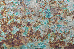 Rusty textured surface background Royalty Free Stock Photography