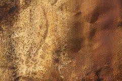 Rusty Tin Panel Stock Photo
