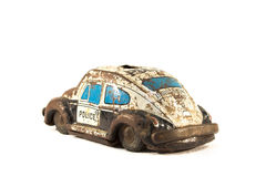 Rusty tin toy Royalty Free Stock Image