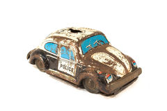 Rusty tin toy stock photos
