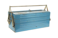Rusty tool box Royalty Free Stock Photo