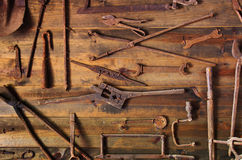 Rusty Tools Royalty Free Stock Images