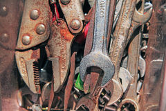 Rusty tools Stock Photography