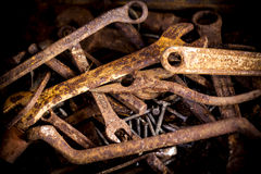 Rusty tools. Stock Image