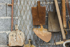 Rusty tools Royalty Free Stock Photography