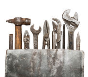 Rusty tools Stock Images