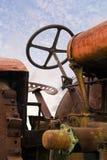 Rusty Tractor anziano Immagini Stock Libere da Diritti